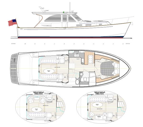 Turner Johnson Yacht Sales: Legacy 42